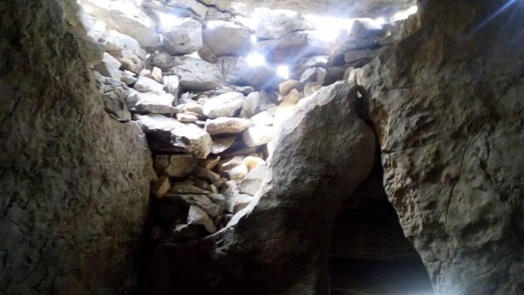 Au dolmen du Lamalou